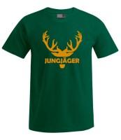 JUNGJÄGER T-Shirt HIRSCH